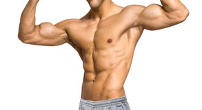 Mans upper body Royalty Free Stock Images