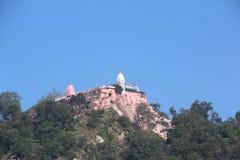 Mansa Devi tempel Arkivbild