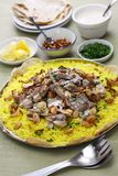 Mansaf, Jordanian national dish Stock Images