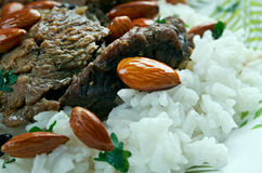 Mansaf Royalty Free Stock Images