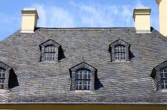 Mansardowi okno Zdjęcia Royalty Free