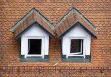 mansardowy dach Zdjęcia Royalty Free