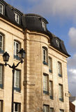 Mansart house in France Royalty Free Stock Photos