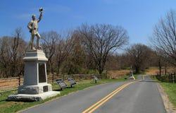 Mansfield Ave przy Antietam obywatela polem bitwy Obrazy Stock