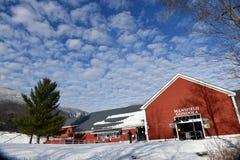 Mansfield Gondola lift at Stowe Ski Resort in Vermont