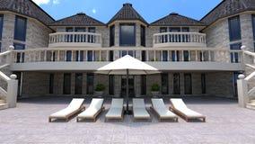 mansión Imagen de archivo