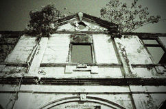 Mansión abandonada en Penang Fotos de archivo libres de regalías