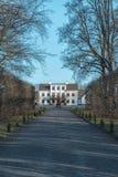 Mansión al aire libre del museo de Fredriksdal Fotos de archivo