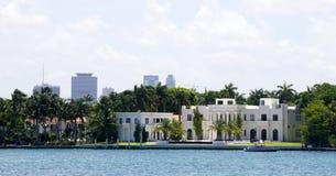 Mansión de lujo en Miami Foto de archivo