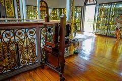 Mansión de Pinang Peranakan, museo que muestra las aduanas de Peranakans, diseño interior y formas de vida, Malasia Fotos de archivo