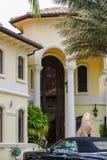 Mansión de Rich Home en la Florida del sur Foto de archivo