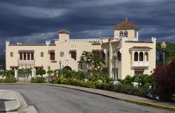Mansión en el Caribe Fotografía de archivo libre de regalías