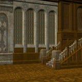 Mansión frecuentada Imagen de archivo libre de regalías
