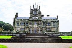 Mansión gótica del castillo de Margam fotografía de archivo libre de regalías