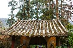 Mansión Ha Giang legendario, Vietnam del ` s de Vuong Family imagen de archivo libre de regalías