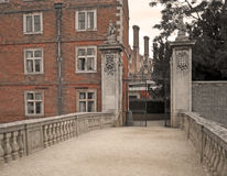 Mansión inglesa vieja Fotos de archivo libres de regalías