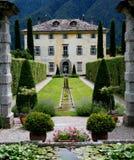Mansión italiana Fotografía de archivo