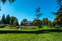 Mansión, 's Graveland, los Países Bajos imagen de archivo