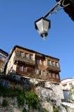 Mansión vieja en Kastoria, Grecia Fotos de archivo