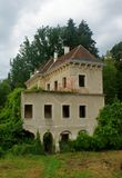 Mansion. Old castle in north Croatia Stock Photography