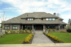 Mansion. Located in Morgan Creek Estates, Vacouver, BC royalty free stock images