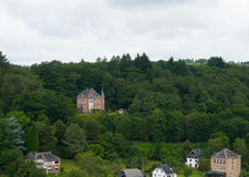 Mansion in the ardennes Royalty Free Stock Images
