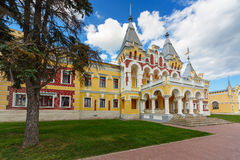 Mansion of baron Von Dervis, Russia Royalty Free Stock Images