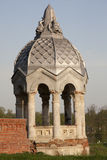 Gazebo in the noble estate Royalty Free Stock Photography