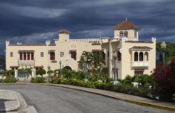 Mansion in the Caribbean Royalty Free Stock Photography