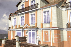 Mansion Classic Style Royalty Free Stock Images