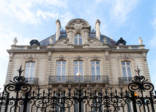 Mansion with coat of arms in Rennes, France Stock Photos