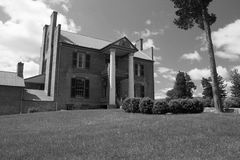 Mansion at Fort Chiswell - Wythe County, VA Stock Photography