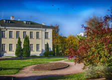 The mansion in the garden Royalty Free Stock Photography