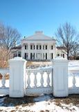 Mansion gate Royalty Free Stock Photo