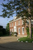 Mansion House. Grand House in country estate grounds Stock Image