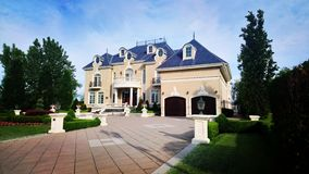 Mansion of a house royalty free stock photo
