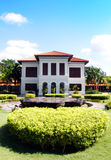 Mansion house landscaping - Istana Kampong Glam Stock Photos