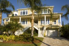 Mansion In Florida Stock Images