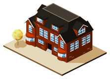 Mansion Isometric Stock Photography