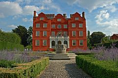 Mansion at Kew Gardens royalty free stock photography