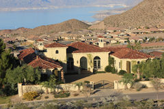 Mansion on lake Mead Stock Photography