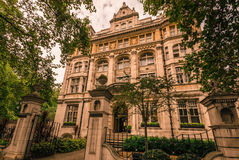 Mansion in London Royalty Free Stock Photography