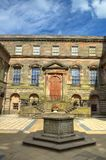 Mansion manor house at lyme park in stockport, UK.  Stock Photos