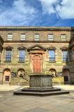 Mansion manor house at lyme park in stockport, UK.  Royalty Free Stock Images