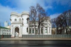 Mansion merchant Arseny Morozov, Vozdvizhenka 16, 19th Century. Royalty Free Stock Photos