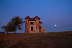 Mansion in midnight Royalty Free Stock Image