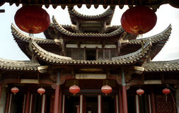 Mansion of Ming dynasty Stock Images