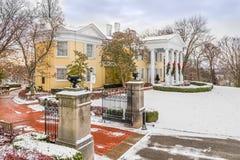 Mansion Museum at Oglebay Park Royalty Free Stock Photo