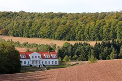 Mansion near Herleshausen in Germany. A Mansion near Herleshausen in Germany stock images