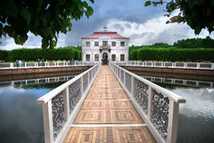 Mansion near Saint Petersburg. Russia royalty free stock images
